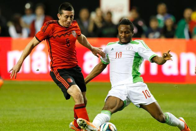 Mexico vs. Nigeria: International Friendly Live Score, Highlights, Report