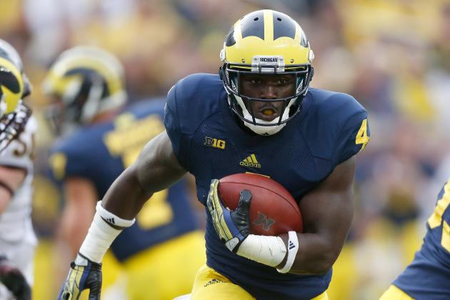 Michigan Football: Does De'Veon Smith Deserve to Be No. 1 RB?
