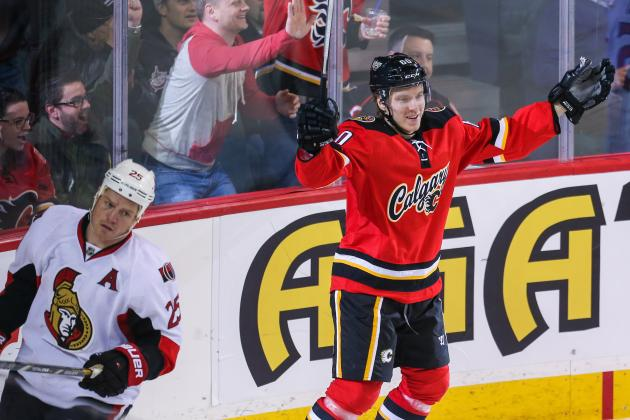 Video: Flames' Granlund Scores First Career NHL Goal