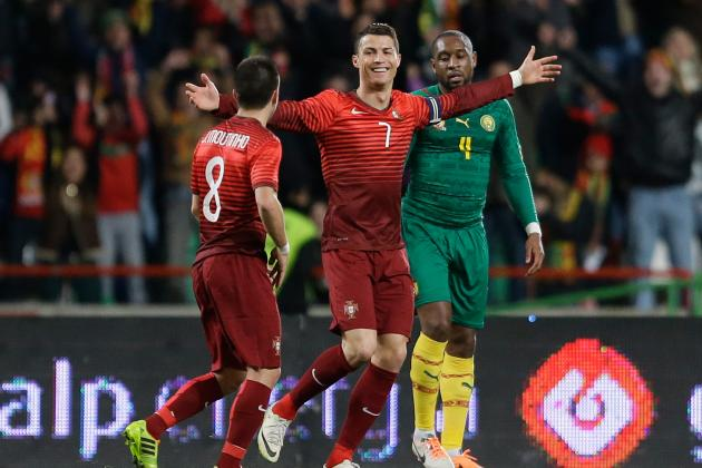 International Friendlies Standout Stats: Ronaldo Breaks Portugal Scoring Record