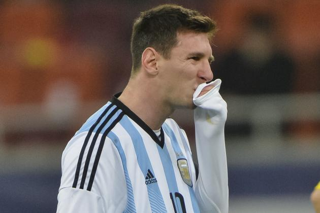Lionel Messi Plays Down Sickness After Vomiting During Romania vs. Argentina