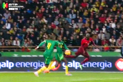 GIF: Edinho's Skill to Control Ball During Portugal vs. Cameroon Is Ridiculous