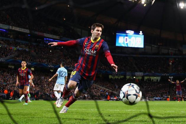 Lionel Messi Reportedly Set for Staggering Manchester City Transfer Bid