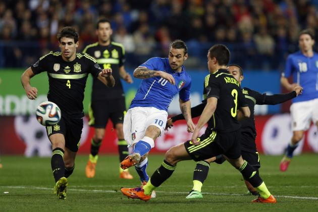 Film Focus: Analysing Italy's Tactics in 1-0 Loss to Spain
