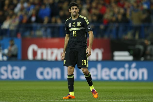 Diego Costa Could Force Team-Mate David Villa from Spain's 2014 World Cup Squad