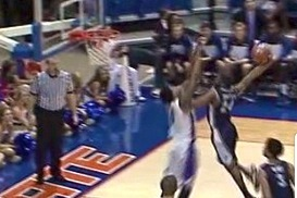 Nevada's Deonte Burton Annihilates Basket with Strong Dunk of the Year Candidate