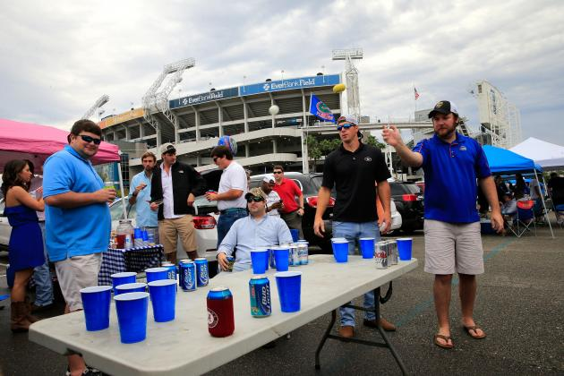 SEC to Review Alcohol Policy for Fans at Neutral-Site Games