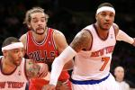 Report: Noah Recruited Melo to Join Bulls
