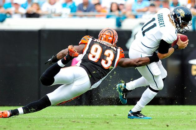 Jaguars Free Agency 2014: Michael Johnson Profile