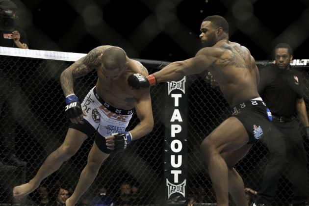 Tyron Woodley Sees Title Fight After UFC 171: 'I'm Going to Beat Carlos Condit'