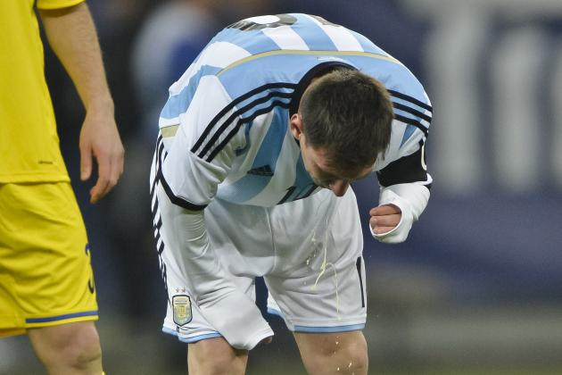 Is Lionel Messi's Vomiting a Problem?