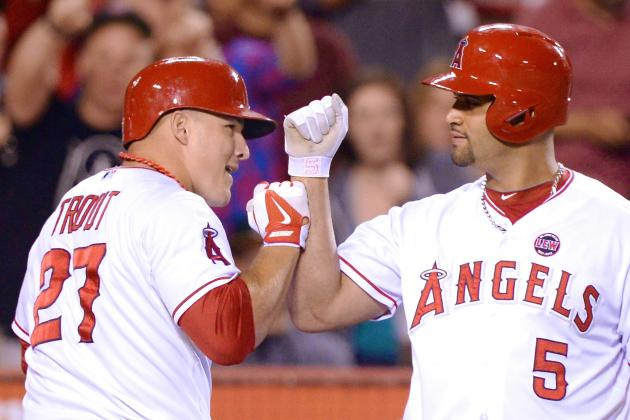 Albert Pujols Takes Offense to Being Compared to Mike Trout
