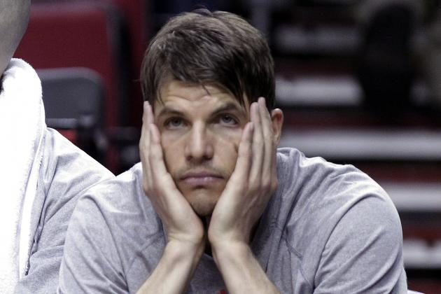 Hawks' Kyle Korver Sees NBA-Record 3-Pointer Streak End
