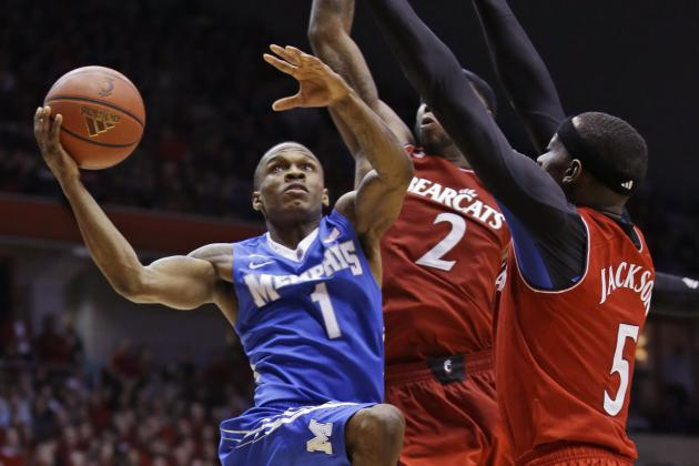 No. 15 Cincinnati Beats No. 20 Memphis 97-84