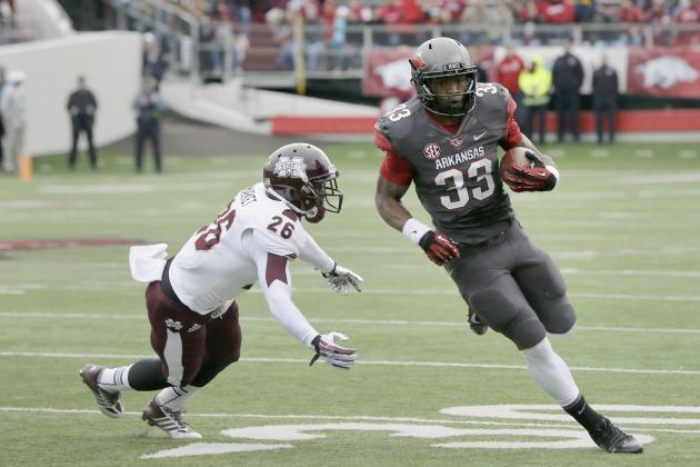 Arkansas Football: Hogs Should Keep Korliss Marshall at RB