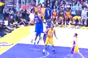 Blake Griffin Throws Down Disgusting Alley-Oop Dunk vs. Lakers