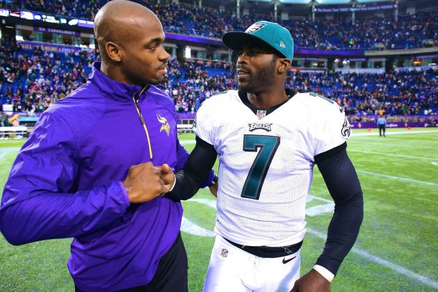 Adrian Peterson's Vick-to-Vikings Talk Makes Sense for Minnesota