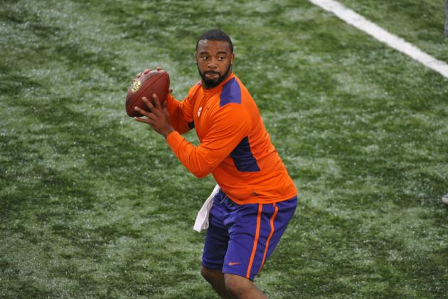 Tajh Boyd Shows Off NFL Potential at Clemson Pro Day