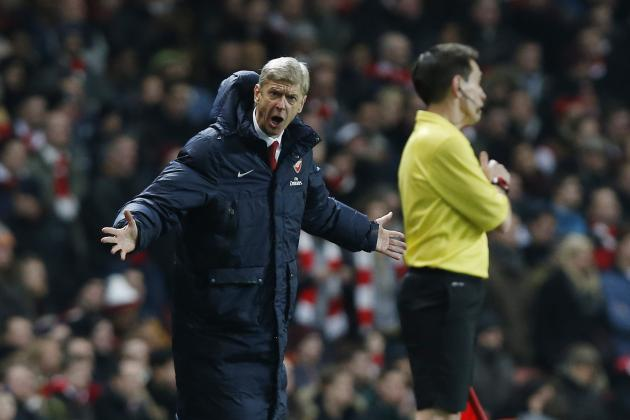 Arsene Wenger Hits Back at Journalist After Arsenal's March Form Is Questioned