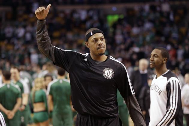 Paul Pierce Should End His NBA Story in Boston Celtics Green