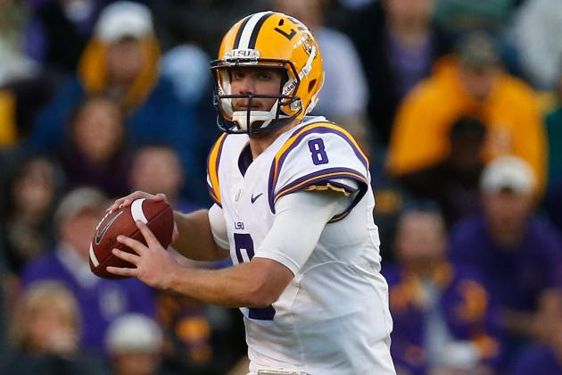LSU QB Zach Mettenberger Said He Will Throw on Pro Day