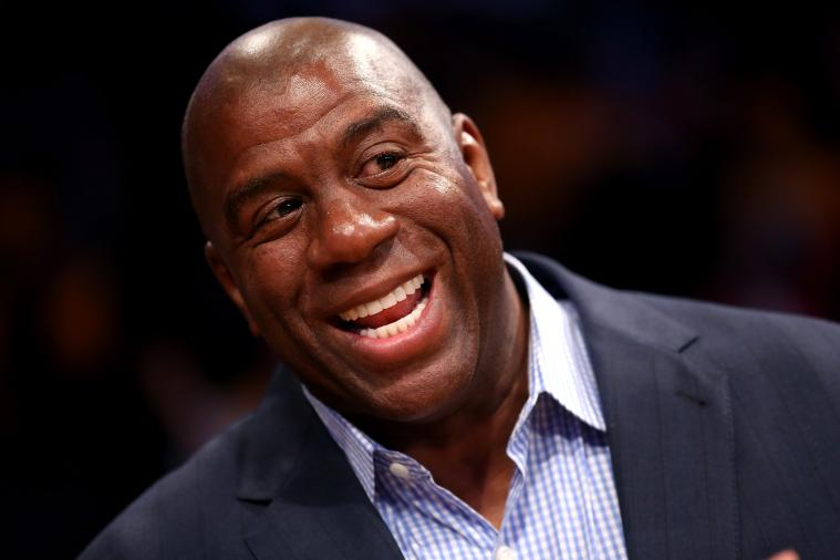 Magic Johnson Makes Classic Magic Johnson Claim in Tweet About Heat and Spurs
