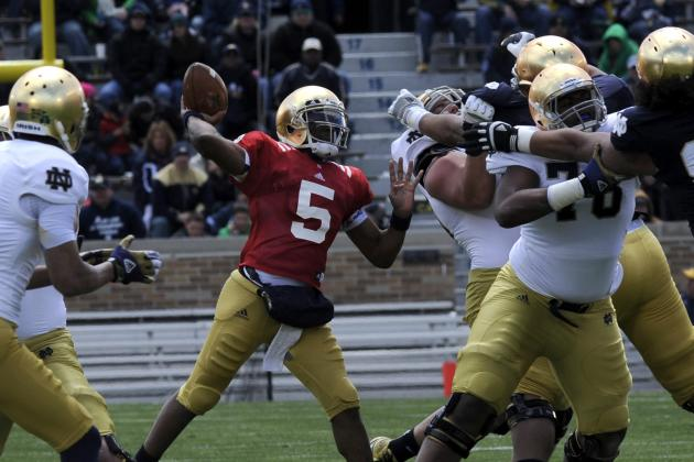 Notre Dame Football: Week 1 Spring Practice Stock Report