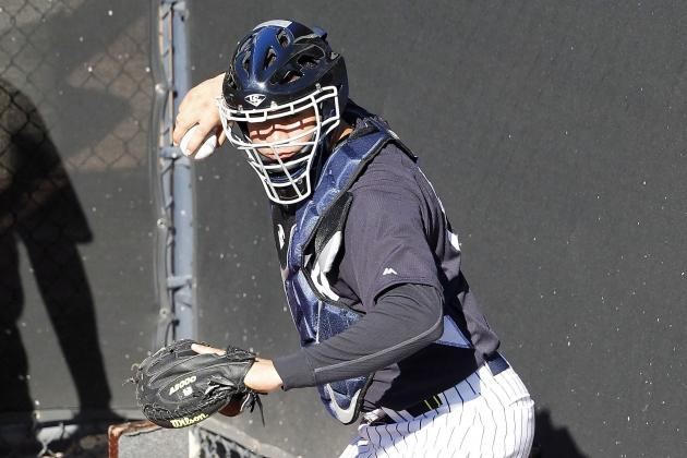 A Look at the Yankees' Strong Organizational Catching Depth