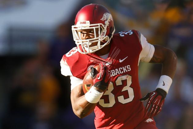 Korliss Marshall to Stay at Running Back, Bielema Says