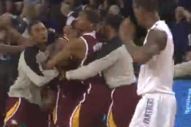 Andre Smith's Buzzer-Beating Three Pushes Winthrop Past High Point (VIDEO)