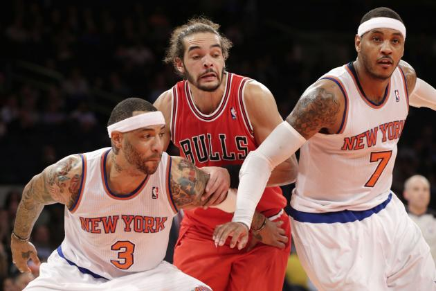Is Joakim Noah Key to Luring Carmelo Anthony to Chicago Bulls?