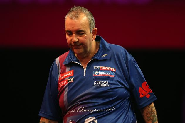 Premier League Darts 2014: Beginning of the End for Taylor in Exeter