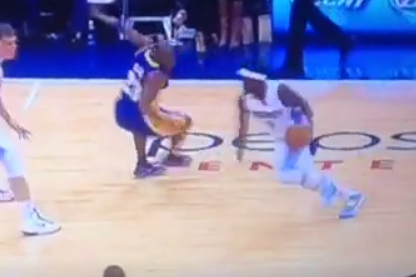 Ty Lawson Breaks Jodie Meeks' Ankles During Game vs. Lakers