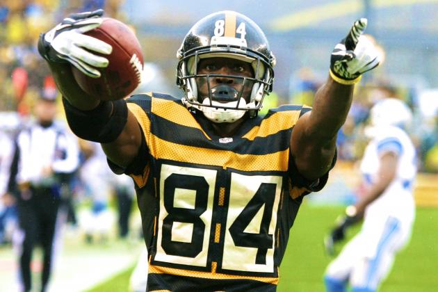 Antonio Brown Reportedly Restructures Contract with Pittsburgh Steelers