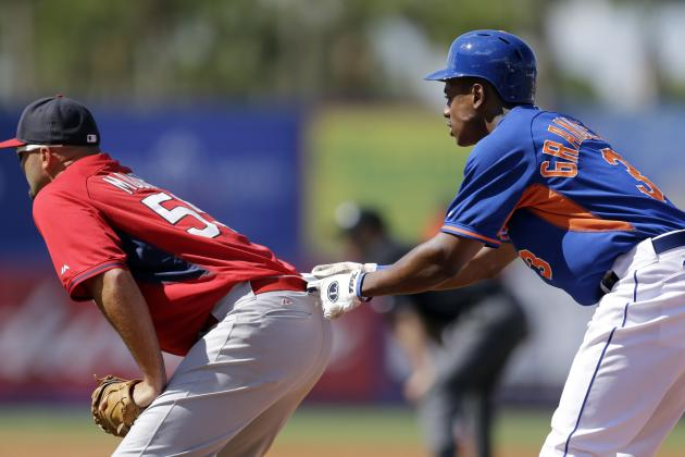 GIF: Curtis Granderson Gets a Little Too Friendly with Cardinals' Moore