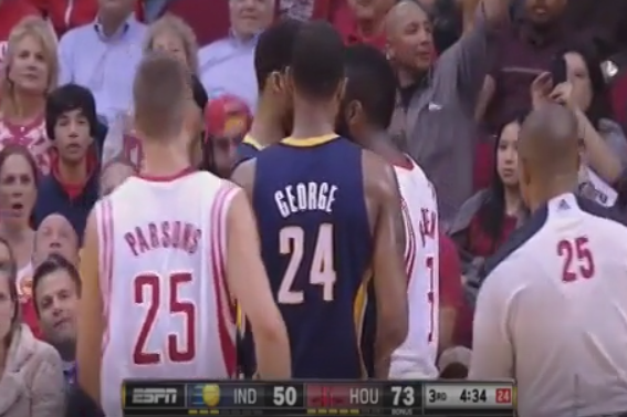James Harden and Evan Turner Nearly Come to Blows in Houston
