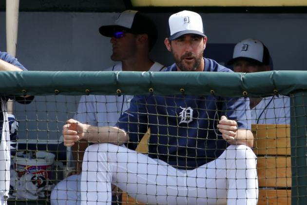 Justin Verlander to Make First Exhibition Start Tuesday vs. Toronto Blue Jays