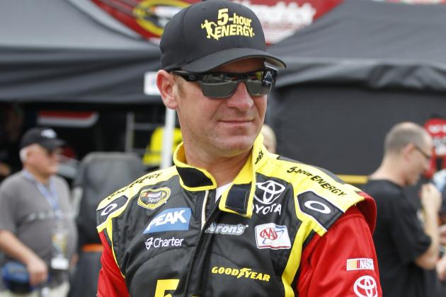 Clint Bowyer to Trade Steering Wheel for a Hockey Stick — for One Night