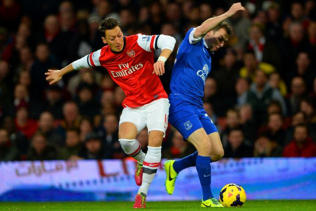 Arsenal vs. Everton: Live Player Ratings