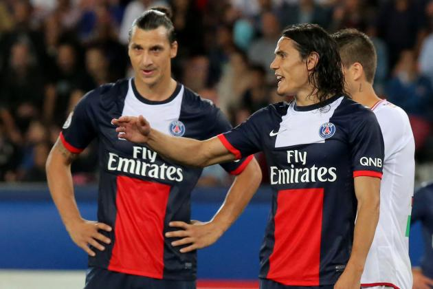 Ibrahimovic and Cavani: Ligue 1 Stars Together Again