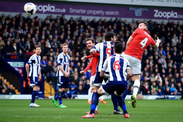 West Bromwich Albion vs. Manchester United: Live Player Ratings