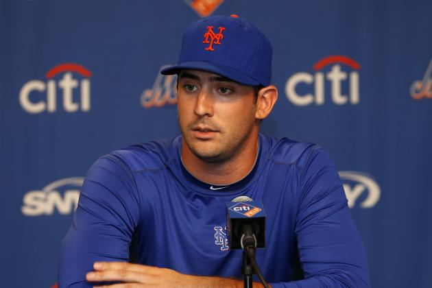 Matt Harvey Still Hopes to Pitch This Season