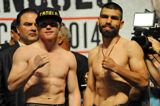 Canelo vs. Angulo: Fight Card Predictions, TV Schedule and More