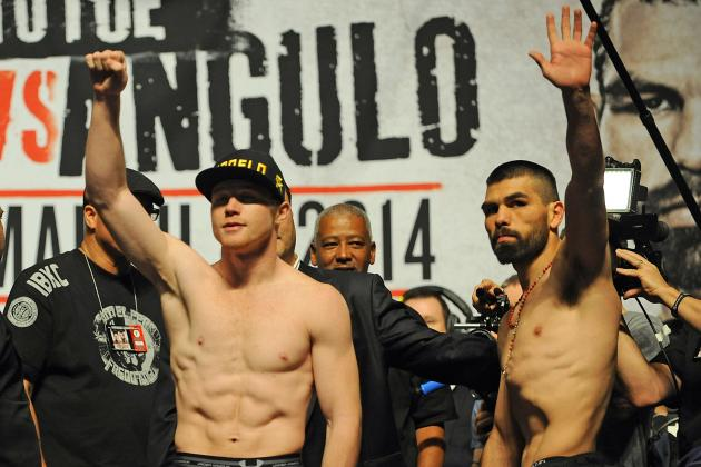 Canelo vs. Angulo Fight Time: TV Schedule for Main Event and Undercard