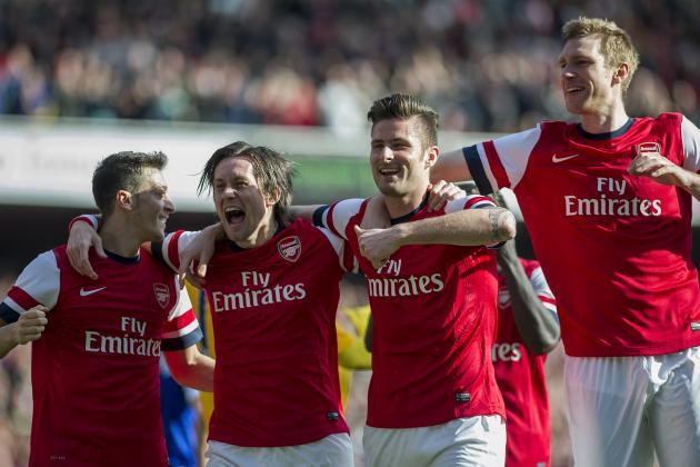 Arsenal vs. Everton: Post-Match Reaction from Arsene Wenger and Roberto Martinez