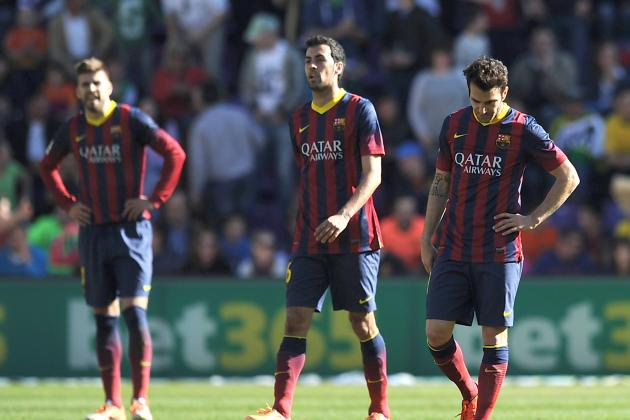 Valladolid vs. Barcelona: Live Player Ratings for Barca