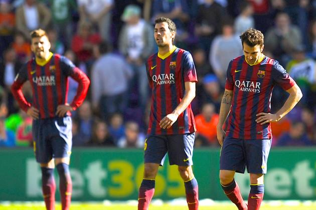 Valladolid vs. Barcelona: La Liga Live Score, Highlights, Report