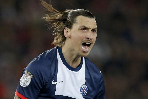 GIF: Watch Zlatan Ibrahimovic's Kung-Fu Assist for PSG Against Bastia