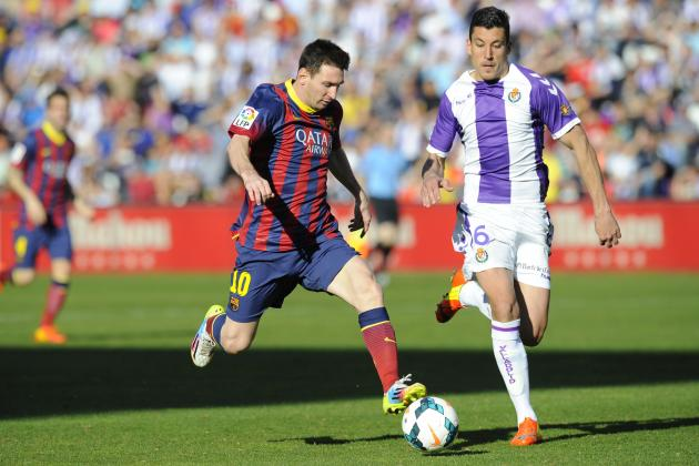 Analysing Lionel Messi's Performance from Real Valladolid vs. Barcelona