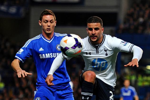 Chelsea vs. Tottenham Hotspur: Live Player Ratings